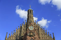 Church of Our Lady (Frauenkirche) in Nuremberg, Germny Royalty Free Stock Photography