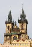 Church of Our Lady in front of Tyn Stock Images