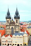 Church of Our Lady in front of Tyn in Prague Royalty Free Stock Photography