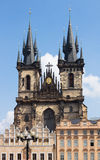 Church of Our Lady in front of Tyn in Prague Royalty Free Stock Photos