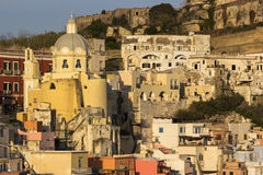 The Church of our Lady Grace in Procida Royalty Free Stock Photos