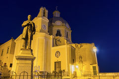 The Church of our Lady Grace in Procida Stock Photos