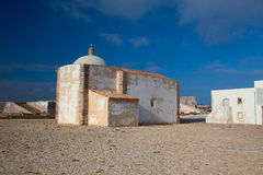 Church of Our Lady of Grace  at Sagres Fortress,Algarve Stock Image
