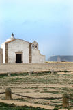 Church of Our Lady of Grace at Sagres Fortress Stock Photo