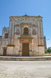Church of Our Lady of the Grace. Soleto. Puglia. Italy. Royalty Free Stock Image