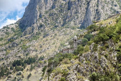 Church of our lady of health, Kotor Royalty Free Stock Images
