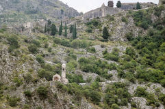 Church of our lady of health, Kotor Royalty Free Stock Image
