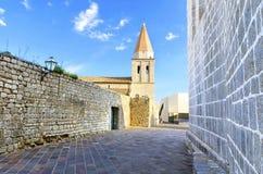 Church of Our Lady of Health, Krk, Croatia Stock Photos