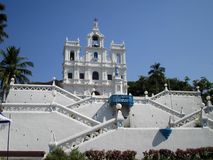 Church of our Lady of the Immaculate Conception. In Panjim, Goa, India Royalty Free Stock Photo