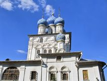 Church of Our Lady of Kazan. Listed building. Mid-XVII c. Royalty Free Stock Image