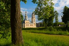 Church of Our Lady of Kazan in Uglich royalty free stock image