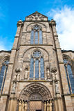 Church of Our Lady - Liebfrauenkirche, Trier. The Liebfrauenkirche (Church of Our Lady) is a 13th-century parish church in Trier, built in the Gothic style Royalty Free Stock Photos