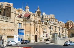 Church of Our Lady of Liesse in Valletta Royalty Free Stock Photography