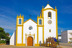 Church of Our Lady of the Light Luz, Algarve Portugal Stock Images