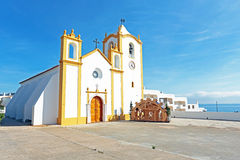 Church of Our Lady of the Light Luz Portugal Stock Photography