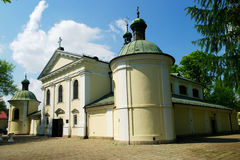 Church of the Our Lady of Loreto in Warsaw, Poland Stock Photos