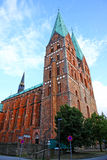 Church of Our Lady in Lubeck Royalty Free Stock Photography