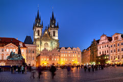 Church of our Lady - the main church of old town of Prague Czech Royalty Free Stock Photography