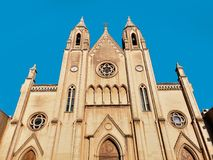Church of Our Lady of Mount Carmel, St. Julians, Malta. EU Stock Image