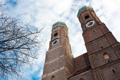 The Church of Our Lady in Munich, Germany Stock Images