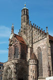 Church of Our Lady in Nuremberg, Germany Royalty Free Stock Photo