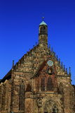 Church of Our Lady, Nuremberg Stock Photography