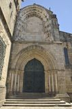 Church of Our Lady of Oliveira. In Oliveira Square, Guimaraes, Portugal royalty free stock photo