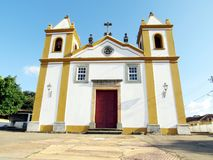 Church of Our Lady of Penha. The Nossa Senhora da Penha Church, whose works began in 1732 and ended in 1771 Stock Image