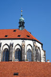 Church of Our Lady in Prague. Czech Republic Royalty Free Stock Photography