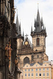 Church Of Our Lady In Prague Royalty Free Stock Image