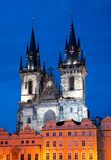 Church of Our Lady in Prague Royalty Free Stock Photo