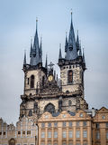 Church of Our Lady in Prague Stock Image