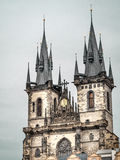 Church of Our Lady in Praque Stock Image