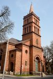 Church of Our Lady Queen of Poland in Gniezno Stock Image