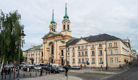 Church of Our Lady Queen of Poland Stock Photo