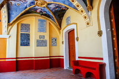 Church of Our Lady of Remedies in Cholula Royalty Free Stock Photos