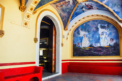 Church of Our Lady of Remedies in Cholula Stock Photography