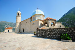 Church of Our Lady on the Rock Royalty Free Stock Image