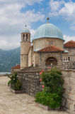 Church of Our Lady of the Rocks. Montenegro Stock Photography