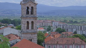 Church of Our Lady in Sinj stock video footage