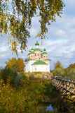 Church of Our Lady of Smolensk, Olonets, Karelia Stock Photos