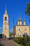 Church of Our Lady of Smolensk with separate belltower in Suzdal, Russia Royalty Free Stock Photos