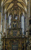 Church of Our Lady of the Snows, Prague. Altar of Church of Our Lady of the Snows, Prague Royalty Free Stock Image