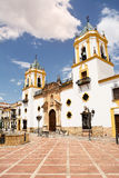 Church Of Our Lady Of Socorro. In Ronda (Spain Stock Photo