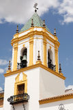 Church Of Our Lady Of Socorro. In Ronda (Spain Royalty Free Stock Photos