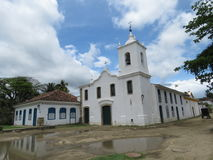 Church of Our Lady of Sorrows - Paraty -Brasil Stock Photos