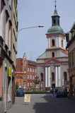 Church Our Lady of Sorrows  in Rybnik Royalty Free Stock Photo