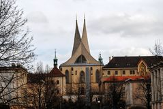 Roman Catholic Church in Prague Royalty Free Stock Photography
