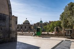 Church of Our Lady St. Mary of Zion Axum, Ethiopia. royalty free stock photo