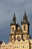 Church of Our Lady before Týn, Prague, Czech Royalty Free Stock Photos